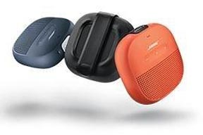 Bose Soundlink Micro Bluetooth speaker in 3 colors